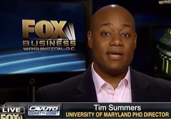 Tim Summers, Summers & Co, Fox Business News